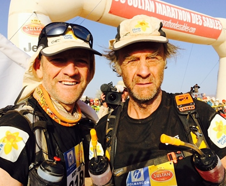 Sir Ranulph Fiennes Finish Line